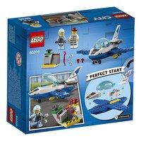 LEGO City 60206 Le jet de patrouille de la police-Arrière