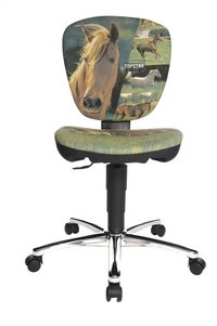 Topstar chaise de bureau pour enfants Kiddi Star Horses light-Avant