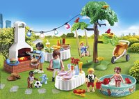 PLAYMOBIL City Life 9272 Famille et barbecue estival-Image 1