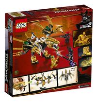 LEGO Ninjago 70666 Le dragon d'or-Arrière