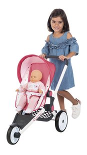 Smoby Quinny Jogger buggy zalmroze-Afbeelding 1