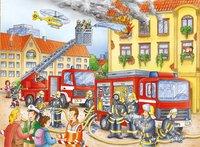 Ravensburger puzzel Brandweer