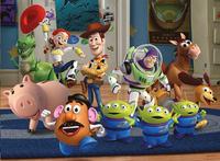 Ravensburger puzzel Toy Story 3: Woody & Buzz-Vooraanzicht