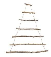 Kersthanger kerstboom van takken