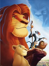Ravensburger puzzel The Lion King-Vooraanzicht