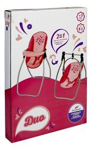 DreamLand chaise haute pour poupées 2 en 1-Côté gauche