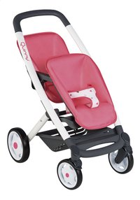Smoby buggy Duo Quinny rose saumon-Côté gauche