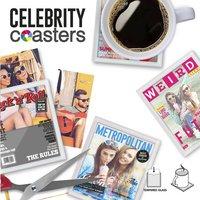Mustard sous-verre Celebrity - 4 pièces-Détail de l'article