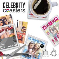 Mustard glasonderzetter Celebrity - 4 stuks-Artikeldetail
