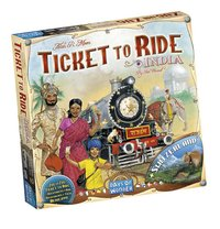 Ticket to Ride uitbreiding: India en Zwitserland