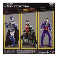 Batman Missions figurines articulées True Moves Batman & Robin contre The Joker-Arrière