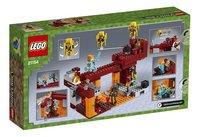 LEGO Minecraft 21154 Le pont de Blaze-Arrière