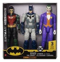 Batman Missions figurines articulées True Moves Batman & Robin contre The Joker-Avant