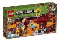 LEGO Minecraft 21154 Le pont de Blaze-Côté gauche