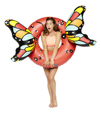 BigMouth grote zwemband Butterfly Wings Red-Afbeelding 1