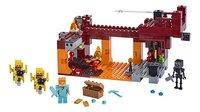 LEGO Minecraft 21154 Le pont de Blaze-Avant