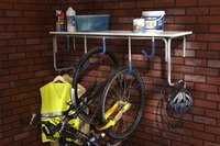 Mottez range-vélos mural pour 5 vélos-Image 1