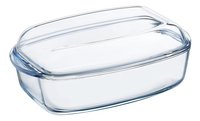 Pyrex plat rectangulaire Essentials 22 x 37,5 cm - 4,5 l