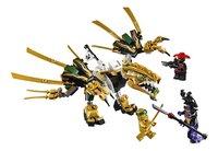 LEGO Ninjago 70666 Le dragon d'or-Avant