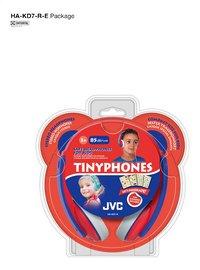 JVC hoofdtelefoon Tinyphones HA-KD7-R rood