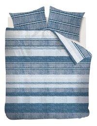Ambiante Dekbedovertrek Gregor blue katoen 260 x 220 cm-Vooraanzicht