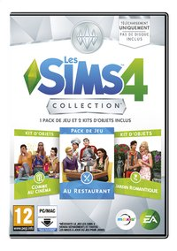 PC Les Sims 4 Collection FR-Avant