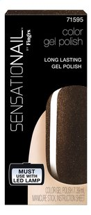 SensatioNail Gel Polish Espresso Bean