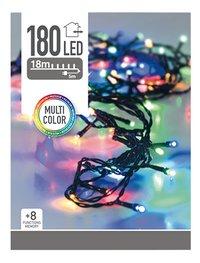 Slingerverlichting led 180 lampjes multicolor-Vooraanzicht