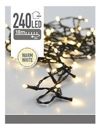 Guirlande lumineuse LED 240 lampes blanc chaud-Avant