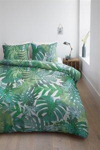 Ambiante Dekbedovertrek Noelle green katoen-commercieel beeld