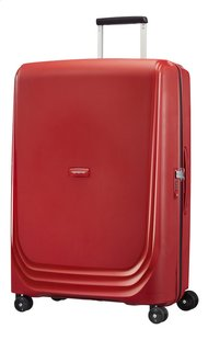 Samsonite Harde reistrolley Optic Spinner red 75 cm-Vooraanzicht