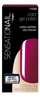 SensatioNail Gel Polish raspberry wine-Vooraanzicht