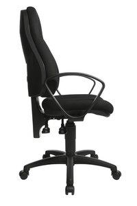 Topstar Chaise de bureau WellPoint noir-Côté gauche