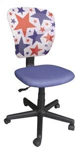 Kinderbureaustoel Stars blauw-Linkerzijde