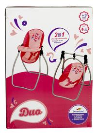 DreamLand chaise haute pour poupées 2 en 1-Avant