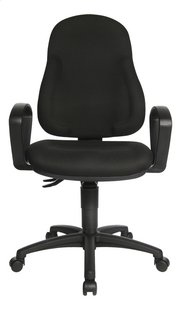 Topstar Chaise de bureau WellPoint noir-Avant