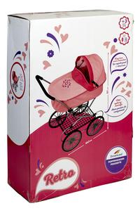 DreamLand poussette pour poupée Look rétro-Côté gauche