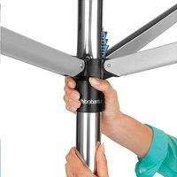 Brabantia Séchoir-parapluie Topspinner 50 m metallic grey-Image 3
