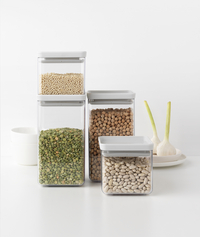 Brabantia 4 boîtes à provisions Tasty+ light grey-Image 2
