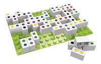 Hubelino Rainbow Dominos & Match four-Côté gauche