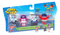 Robot Super Wings Transform a Bots - 4 stuks-Vooraanzicht