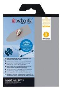 Brabantia housse de rechange en silicone E 135 x 49 cm argenté
