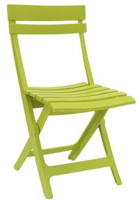 Grosfillex chaise pliante Miami vert