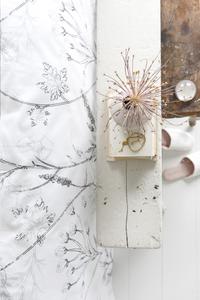 Walra Housse de couette Flower fields wit coton 200 x 220 cm-Détail de l'article