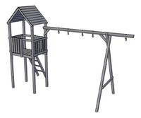 BnB Wood toren met schommeluitbreiding Nieuwpoort-product 3d drawing