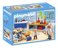PLAYMOBIL City Life 9456 Scheikundelokaal-Linkerzijde