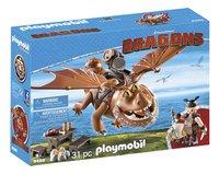 PLAYMOBIL Dragons 9460 Varek et Bouledogre-Côté gauche