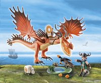 PLAYMOBIL Dragons 9459 Rustik et Krochefer-Image 1