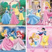 Ravensburger puzzle évolutif 4 en 1 Disney Princess-Avant