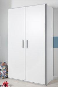 Kleerkast met 2 deuren Babel wit-Afbeelding 1